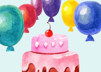 Taart! 6 juni Vitalis officieel 50 jaar!