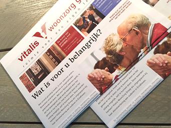 Vitalis WoonZorg Groep geeft krant uit