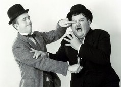LAUREL & HARDY IN DE HORST