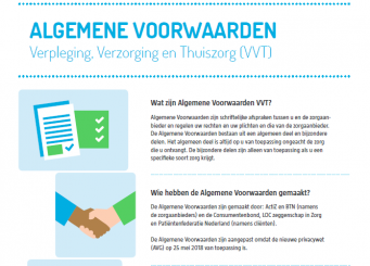 Bijgestelde algemene voorwaarden VVT nu beschikbaar