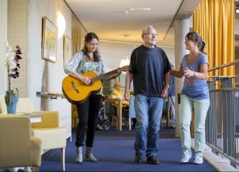 'Frank en Alzheimer' op bezoek bij Vitalis